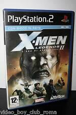 X-MEN LEGENDS II L'ERA DI APOCALISSE GIOCO USATO BUONO PS2 ED ITALIANA 30203