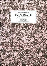 Vivaldi: IV Sonate per Flauto Traverso e Basso/ facsimile autograph score