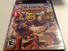 Shrek's Carnival Craze Party Games (PC, 2008) New