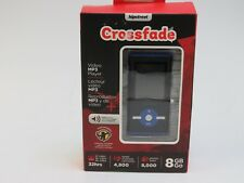 Hipstreet Crossfade 8GB MP3 Video Player with Bluetooth - Blue (HA-T29A-8GBBL)