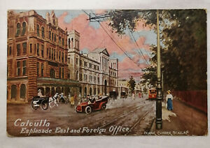 Circa 1910 East & Foreign Office Calcutta Postcard - British Colonial India