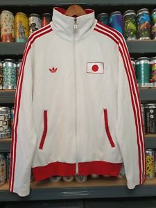Adidas Mens Large Japan Tracksuit Jacket Track Top Vintage Retro Rare