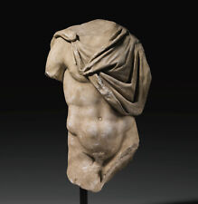 Torso Roma Antigua. Marmol. Siglo l d.c.