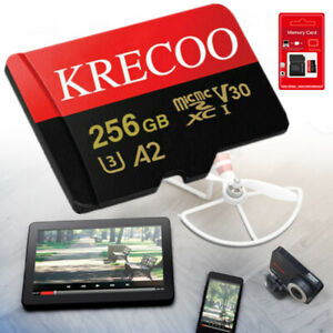 64GB/128GB/256GB SD C10 SDHC SDXC 325MB/S Fast Flash Ultra Micro Memory TF Card