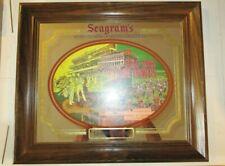 Seagram's Seven Epsom Downs Racecourse Bar Mirror