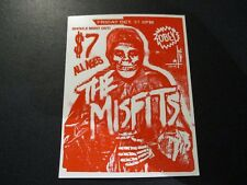 """MISFITS X OBEY Sticker 3X4"""" GHOULS NIGHT from poster print shepard fairey"""