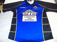 Ynysowen Gales Match Worn Rugby Unión Jersey Camisa// Maillot-excelente! ** Aspecto ** Nº 7