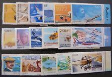 Série complète timbres PA marg.illust. n° 61a-80a