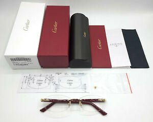 NEW! Cartier Red Syracuse CT0056O Glasses