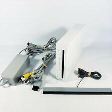 Official Nintendo Wii [RVL-001] Console Bundle WHITE GameCube Compatible