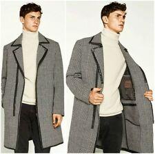 Woolen Zip Collared Coats & Jackets for Men Overcoat