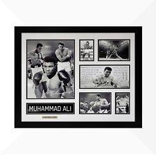Muhammad Ali Signed & Framed Memorabilia - White/Black Limited Edition - Boxing