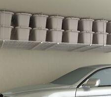 Storage Shelf Ceiling Garage Overhead Wire Raises Rack Shelves Hanging Organizer