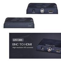 BNC to HDMI High Resolution HD 1080p Lossless HDCP Converter / LKV366