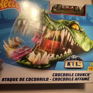 Hot Wheels Crocodile Crunch Track Play Set Ages 4-8 Brand New Free Shipping