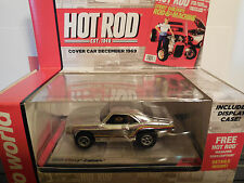 AUTO WORLD ~ '69 Chevy Chrome Camaro ~ Hot Rod Release 12 ~ FITS AW, AFX, JL
