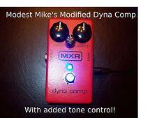 Modified MXR Dyna Comp- Includes Ross Mod Plus a Little Surprise!