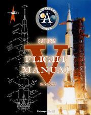 NASA PROJECT APOLLO SATURN V ROCKET FLIGHT MANUAL BOOK
