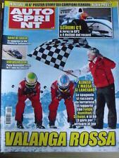 Autosprint 3 2010 Alonso e Massa - Sainz re Dakar - Schumacher  [SC.49]