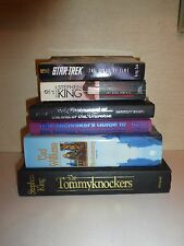 Lot of 6 Science Fiction Books,Stephen King,Douglas Adams,Tad Williams ++SF6