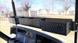 EZGO TXT (94-2013) Golf Cart Front Basket Dash Storage / Tray Organizer