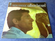 """GILBERT BECAUD (LP) MON AMOUR [US 1967 LIBERTY STEREO LST-7495 """"CHANSON"""" +OIS]"""