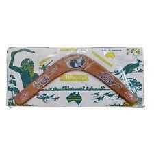 More details for vintage australian returning boomerang made in australia sealed