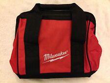 "New Milwaukee M12 11"" x 10"" x 11"" Heavy Duty Contractors Tool Bag"