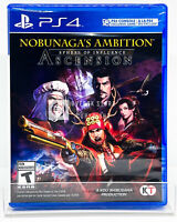 Nobunaga's Ambition: Sphere of Influence - Ascension - PS4 - New | Factory Seale
