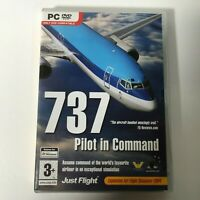 737 Pilot In Command Pc DVD Rom Add On Flight Simulator Sim 2004 X FS2004 FSX FS