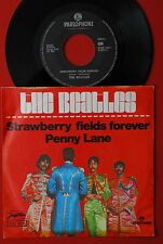 "BEATLES STRAWBERRY FIELDS FOREVER / PENNY LANE 1976 RARE EXYU 7"" PS"