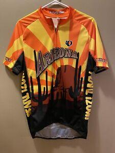 Pearl Izumi Cycling Jersey Mens XL Arizona Full Zip Club Cut