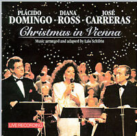 CD-Christmas in Vienna - Placido Domingo-Diana Ross-Jose Carreras - SHIPS FREE!