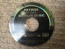 Metroid Prime 2 Echoes BONUS DISK - Nintendo Gamecube DISK ONLY American NTSC