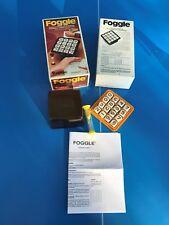 JEU de société / FOGGLE Chrifres Capiepa 1à8 joueur 1977 type COGGLE BOGGLE N°17