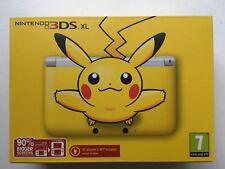 Nintendo 3DS XL Pikachu Limited Edition - PAL - NEW