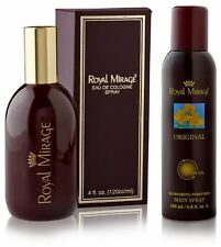 Royal Mirage Original Perfume & Deodorant,120 ml & 200 ml (Combo pack)