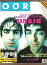 OASIS 5 pages OOR Oct 1995 Dutch magazine + Beatles Brian Eno kd Lang