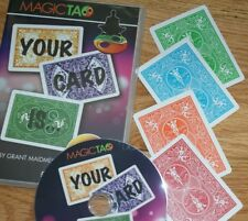 Your Card Is.(Magic Tao) -strong signed card reveal, plus bonus packet Tmgs