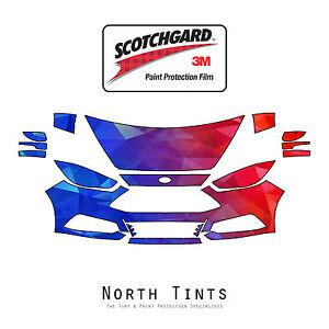 Ford Focus ST 2015-2018 PreCut 3M Scotchgard Paint Protection Film Clear Bra PPF