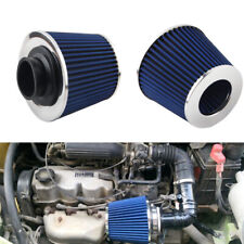 Universal auto Air Intake system  Cone Cold Air filter Mushroom head 60mm