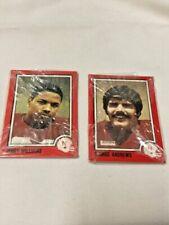 RARE - 2 Unopened Packages - Leesley Nebraska Football Cards - 1989