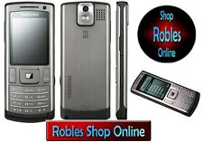 Samsung u800 Grey (Senza SIM-lock) 3g 3,15mp Flash Radio mp3 Bluetooth Top Ovp