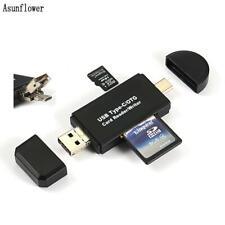 USB 3.0 Memory Card Reader USB Type C SD/Micro SD OTG Adapter SDXC SDHC MMC