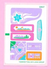 LEGO Friends EMMA'S SPORTS CAR Replacement STICKER SHEET  for Set  # 41013 *NEW*