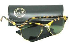 Ray-Ban USA Vintage 70s B&L Clubmaster Antique Tortoise Wayfarer Mint Sunglasses