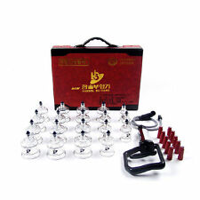 Hansol Bu-Hang Full Body Massage Health Professional Cupping Set 19 PCS 19cups