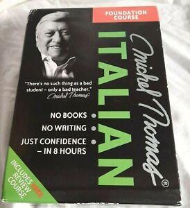 Michel Thomas: Italian Foundation Course (CD-Audio Box Set)