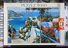Educa 5000 piece puzzle - Balcony in Ponza - H. Behrens - Very Rare !!