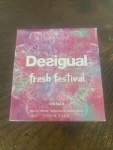 Desigual Fresh Festival Eau De Toilette 100ml